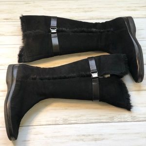 Enzo Angiolini Black Knee High Boots